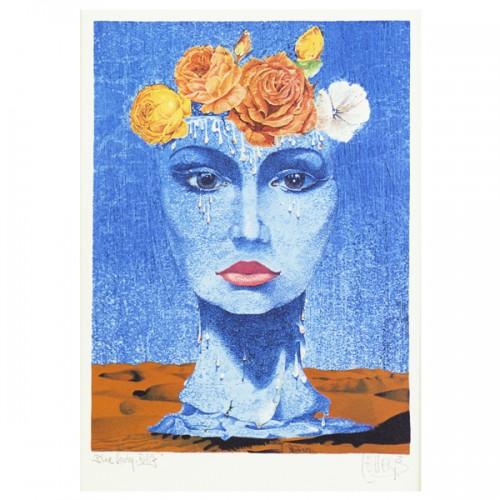 1030 - Blumen Lady