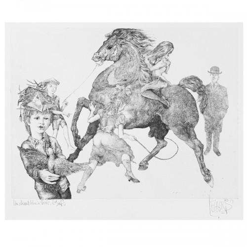 1031 - un cheval bleu à paris - Melange
